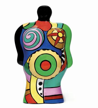 Multiple De Saint Phalle - California Nana vase,