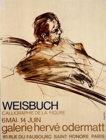 Lithograph Weisbuch - Calligraphie de la Figure