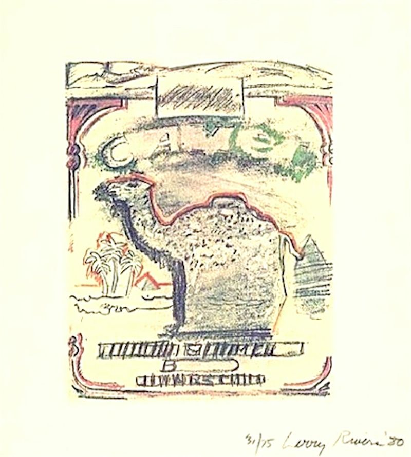 Lithograph Rivers - Camel