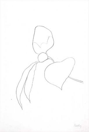 Lithograph Kelly - Camellia I (1964-65)