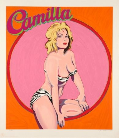 Lithograph Ramos - Camilla Queen of the Jungle Empire