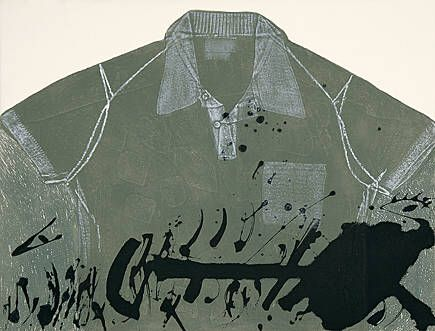 Etching Tàpies - Camisa