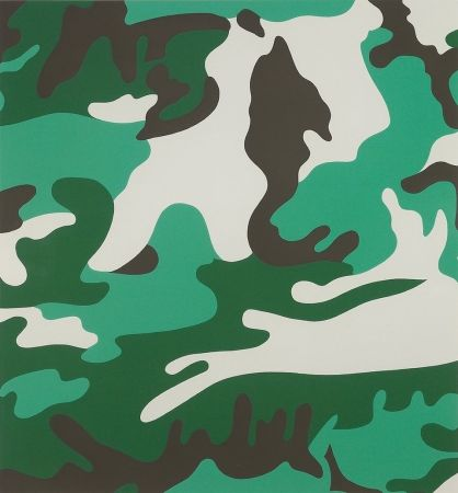 Screenprint Warhol - Camouflage (FS II.406)