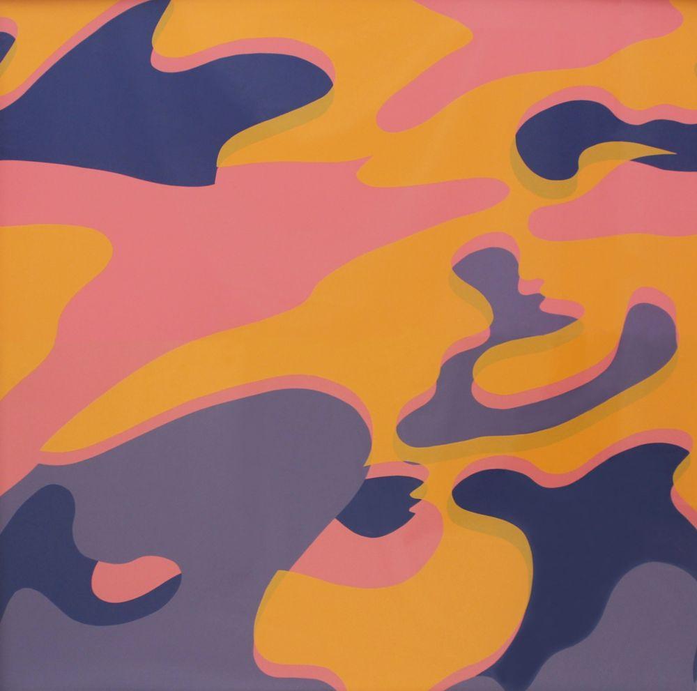 Screenprint Warhol - Camouflage (FS II.410)