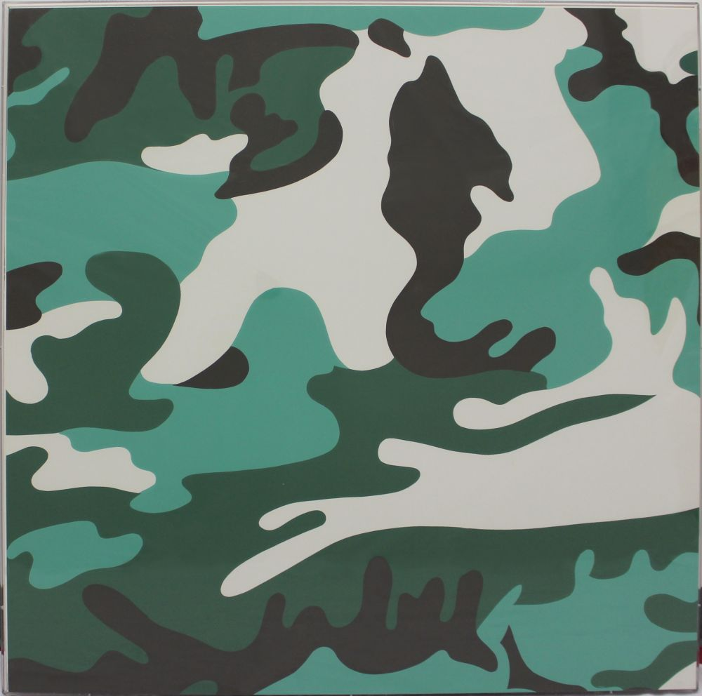 Screenprint Warhol - Camouflage (FSII.406)