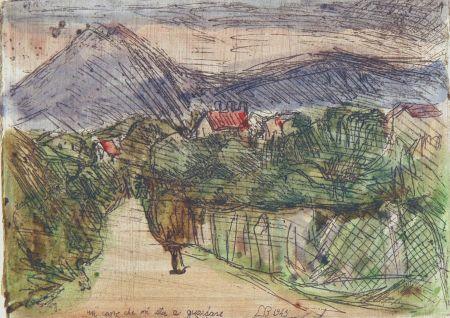 Engraving Bartolini - Campagna meranese
