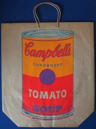 Screenprint Warhol - Campbells' condensed Tomato Soup