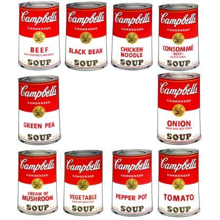 Screenprint Warhol - Campbell's portfolio