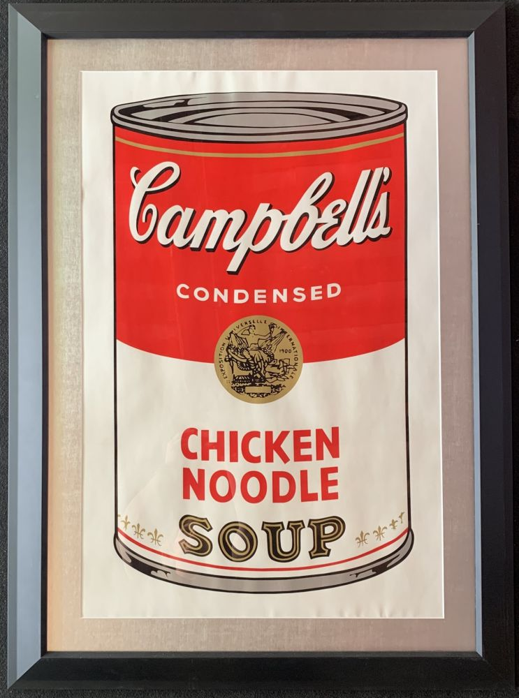 Screenprint Warhol - Campbell's soup