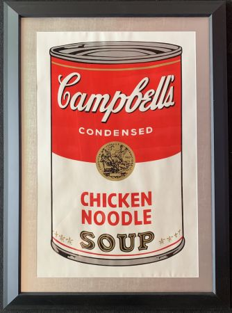 Screenprint Warhol - Campbell's soup