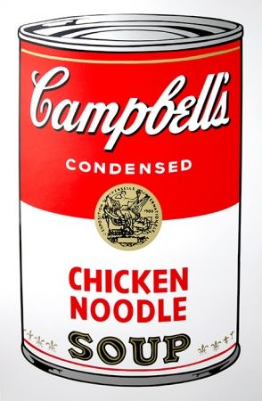 Screenprint Warhol (After) - Campbell's Soup - Chicken Noodle