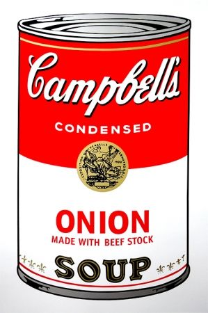 Screenprint Warhol (After) - Campbell's Soup - Onion