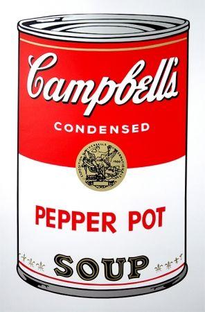 Screenprint Warhol (After) - Campbell's Soup - Pepper Pot