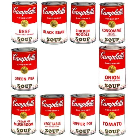 Screenprint Warhol (After) - Campbell's Soup - Portfolio