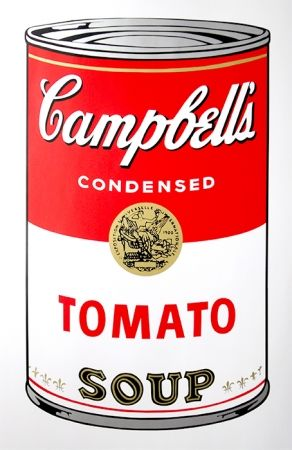 Screenprint Warhol (After) - Campbell's Soup - Tomato