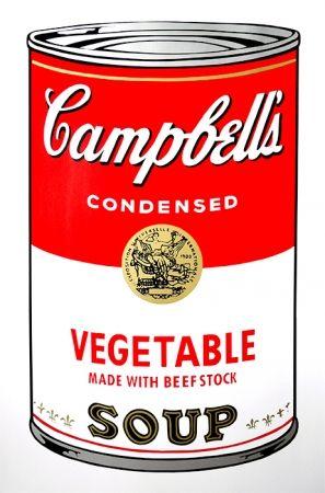 Screenprint Warhol (After) - Campbell's Soup - Vegetable