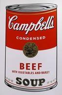 Screenprint Warhol (After) - Campbells soup beef
