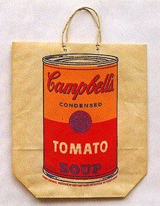 Screenprint Warhol - Campbell's Soup Cam (Tomato)