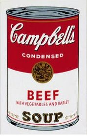 Screenprint Warhol (After) - Campbell´s Soup Can