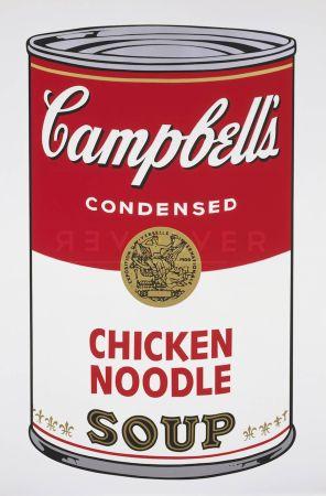 Screenprint Warhol - Campbell's Soup: Chicken Noodle (FS II.45)