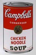 Screenprint Warhol (After) - Campbells soup chiken noodles