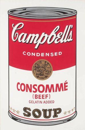 Screenprint Warhol - Campbell's Soup: Consommé (FS II.52)