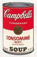 Screenprint Warhol (After) - Campbells soup consomme