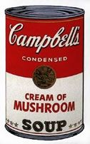 Screenprint Warhol (After) - Campbells soup cream of mushroom