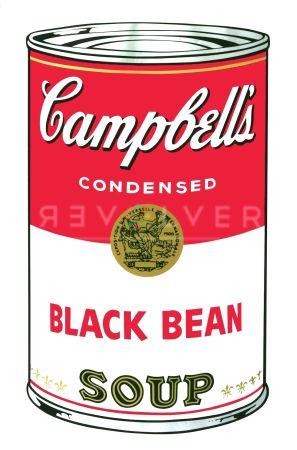 Screenprint Warhol - Campbell's Soup I: Black Bean (FS II.44)