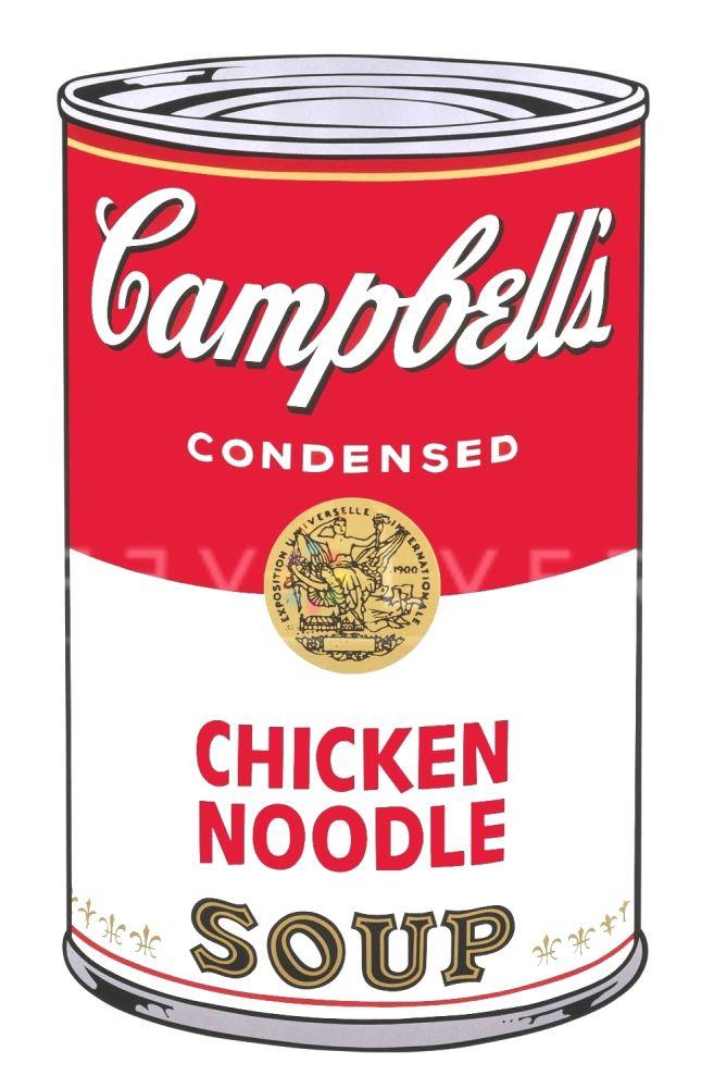 Screenprint Warhol - Campbell's Soup I: Chicken Noodle (FS II.45)