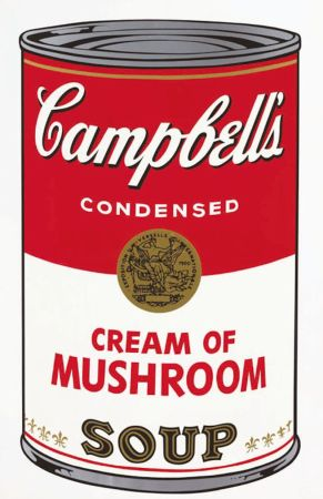 Screenprint Warhol - Campbell's Soup I: Cream of Mushroom (FS II.53)