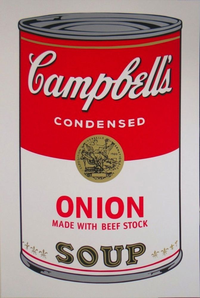 Screenprint Warhol - Campbell's Soup I: Onion (FS II.47)