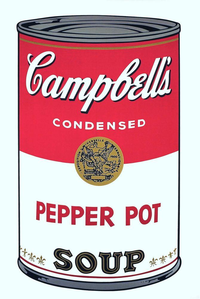 Screenprint Warhol - Campbell's Soup I: Pepper Pot (FS II.51)