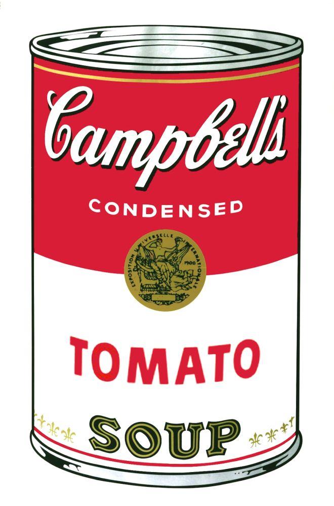 Screenprint Warhol - Campbell's Soup I: Tomato (FS II.46)