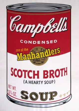 Screenprint Warhol - Campbells Soup II: Scotch Broth (FS II.55)