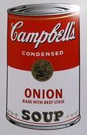 Screenprint Warhol (After) - Campbells soup onion