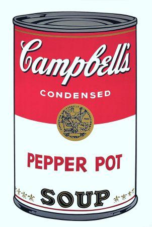Screenprint Warhol - Campbell's Soup: Pepper Pot (FS II.51)