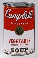 Screenprint Warhol (After) - Campbells soup vegetable