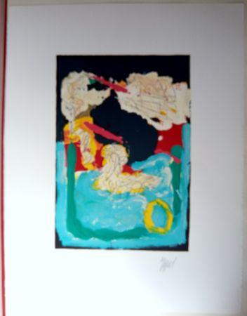 Lithograph Appel - Can We dance a Landscape