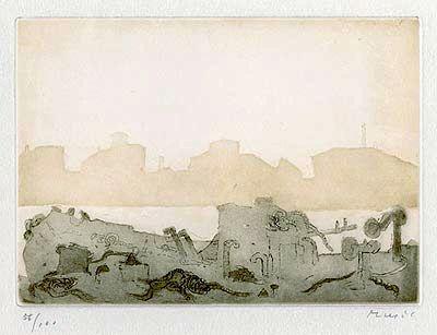 Etching Music - Canale Della Giiudecca