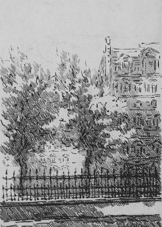Engraving Castellani - Cancellata del British Museum