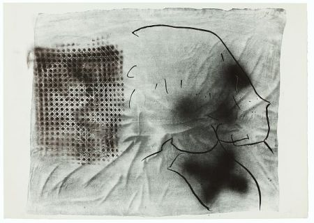 Lithograph Tàpies - Cannage