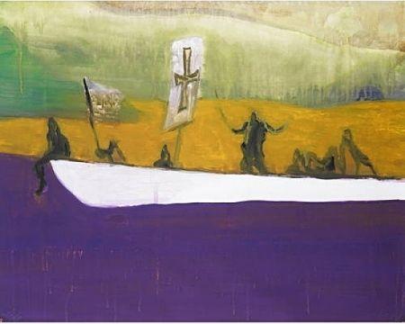 Aquatint Doig - Canoe