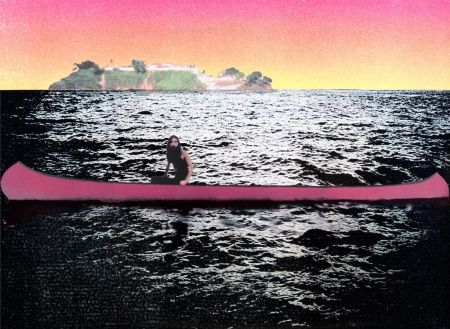 Screenprint Doig - Canoe-Island