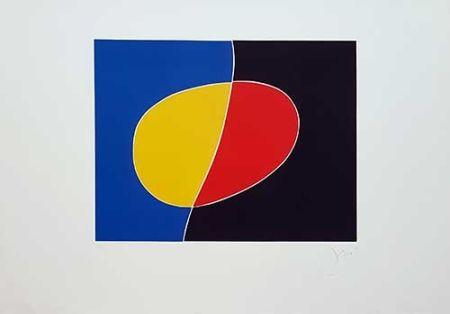 Etching Miró - Cantic Del Sol