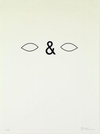 Lithograph Brossa - Careta. 1988