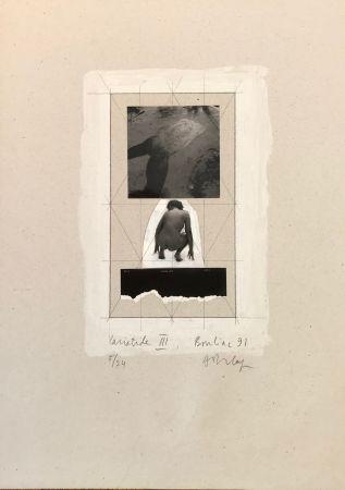 Screenprint Delay - Cariatide III, Bouliac 91