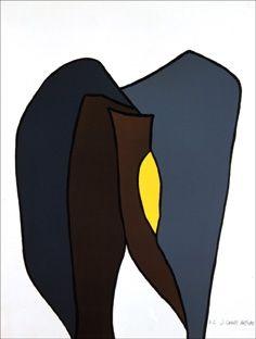 Lithograph Artigas - Carie royale