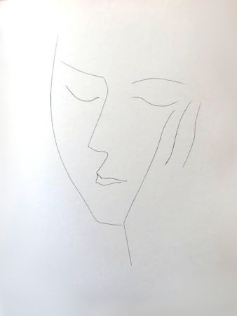 Lithograph Picasso (After) - Carmen