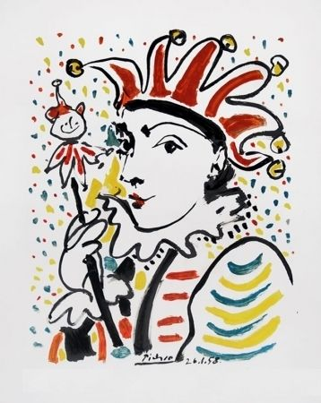 Lithograph Picasso - CARNAVAL